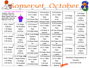Senior Activities Calendar, Senior Events Calendar, Senior Fun, Senior Entertainment, Longview, WA, Longview WA, Washington, Longview Washington