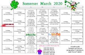 senior calendar longview wa, senior activities longview wa, somerset retirement home longview wa