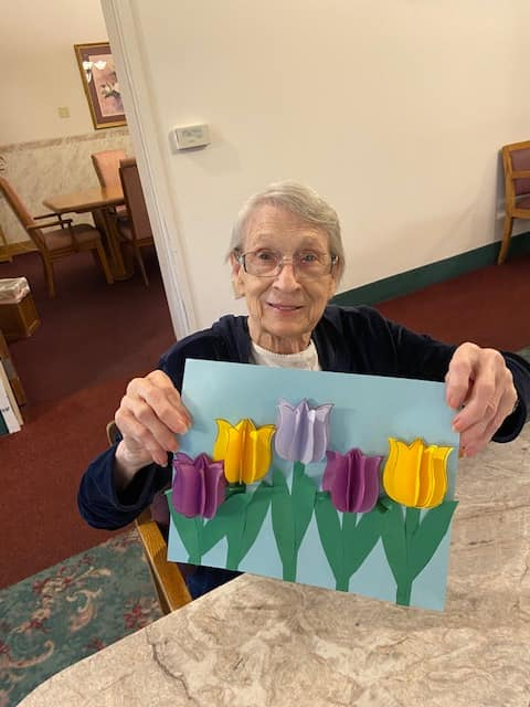 senior activities longview wa, arts and crafts longview wa, mothers day longview wa, assisted livng longview wa, somerset longview wa