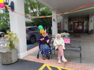 july birthday party, assisted living longview wa, senior living longview wa, somerset longview wa