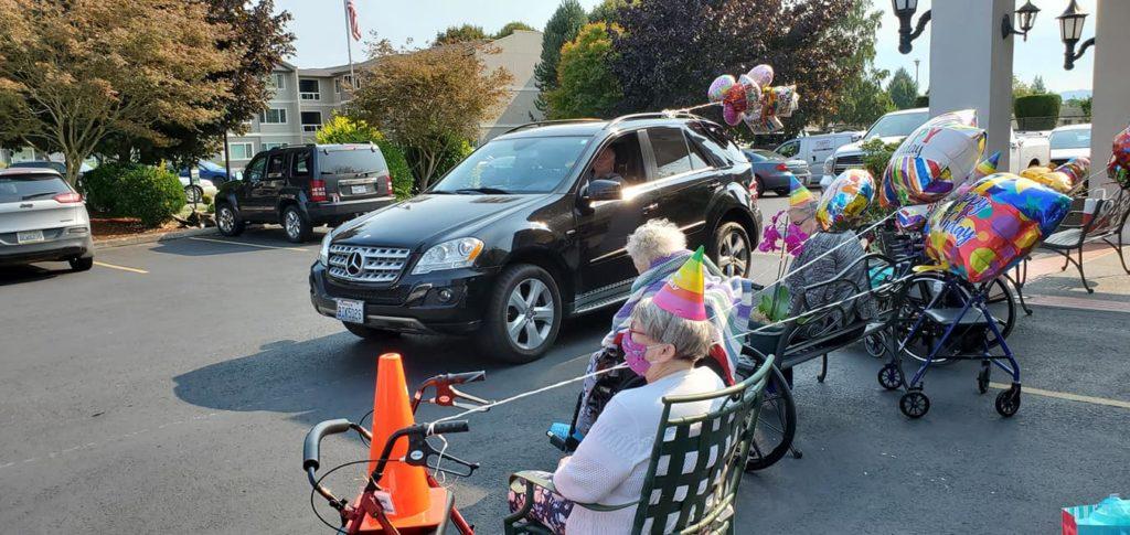 senior activities longview wa, birthday parade longview wa, senior communities longview wa, somerset longview wa